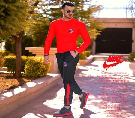 ست بلوز و شلوار Nike مدل Destiny(قرمز)